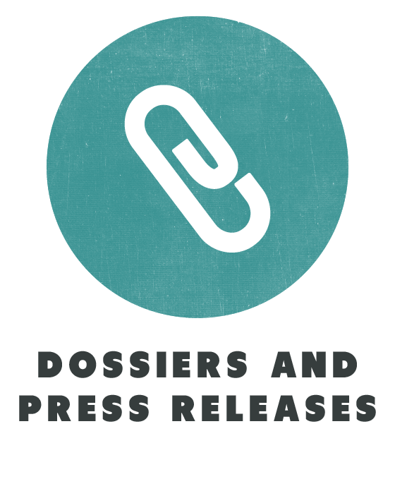 contents dossiers and press releases