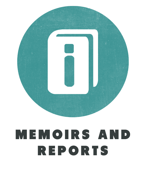 contents memoirs and reports