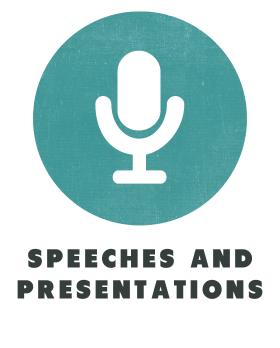 contents speeches and presentations