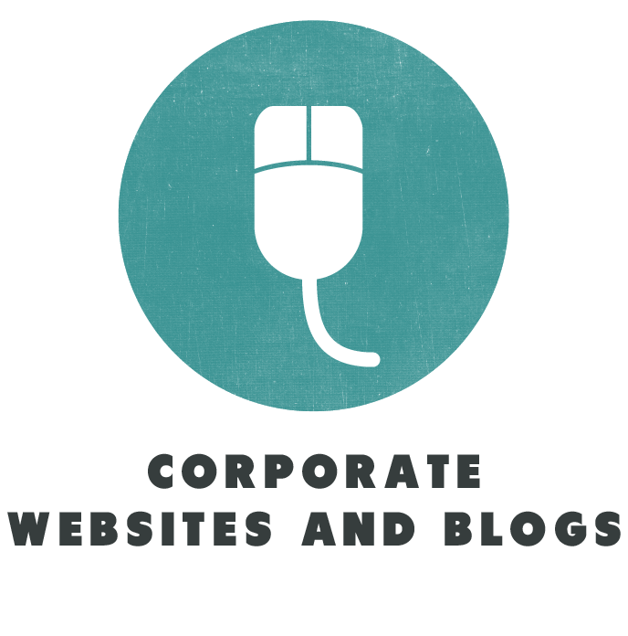 social media corporate websites