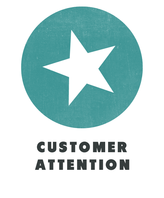 training customer attention